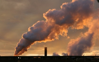 UK Greenhouse emissions on the up