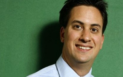 Miliband: climate change can't be solved by 'X-Factor politics'