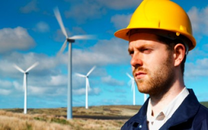 People power blocks npower wind farm