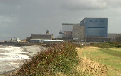 Nuclear plant targeted for protest