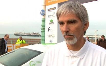 Brighton to London: RAC Future Car Challenge