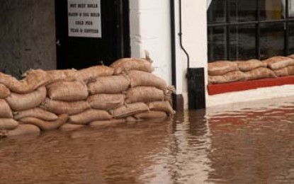 Potential 'funding gap' for flood defence after cuts
