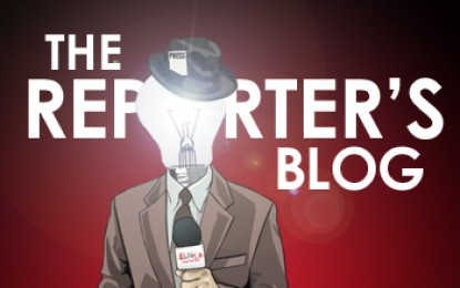 Reporter's Blog