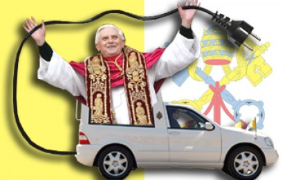 The Pope gets first electric car