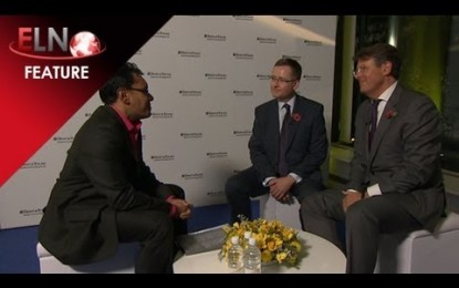Tony Ward & Volker Beckers discuss trust at Energy Live 2012