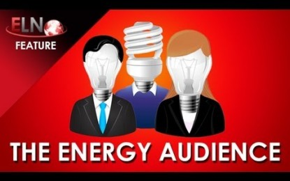 The Energy Audience from Energy Live 2012