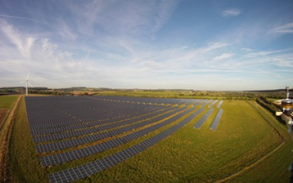 World's largest community owned solar farm in UK