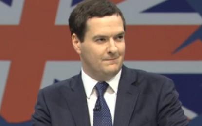 "Osborne derides Miliband for ""phoney"" price freeze"
