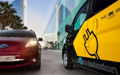 Barcelona to have 'world's first' electric taxi fleet