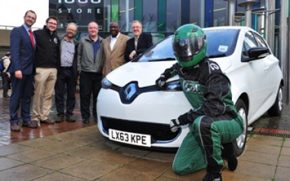UK's first all electric pay-per-use car club launches