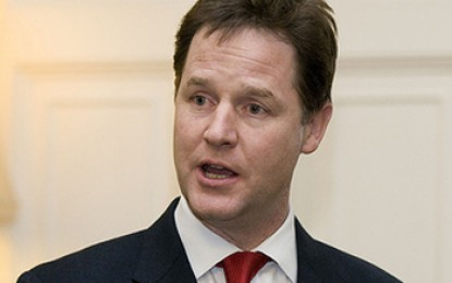 Nick Clegg: Cutting green taxes would be an 'own goal'