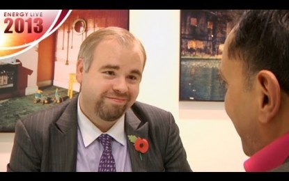 Energy Live 2013 – Sumit Bose Interviews Chris Faulkner
