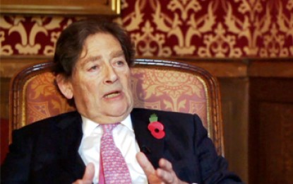 "Lord Lawson – climate policy is ""morally bankrupt"""