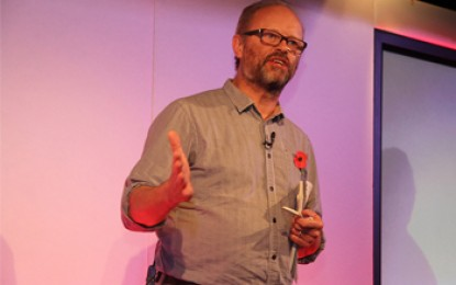 Where does it come from, asks Robert Llewellyn