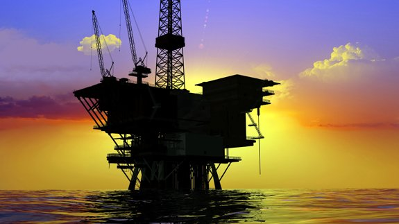 Oil platform Copyright Thinkstock
