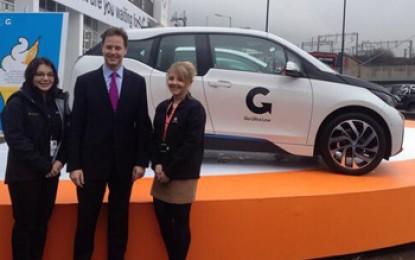 Carmakers join Clegg's £9m low carbon car scheme