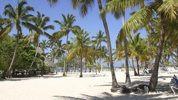 Dominican Republic the Beach at Cayo Levantado