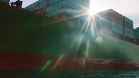 A cargo ship. Image: Thinkstock