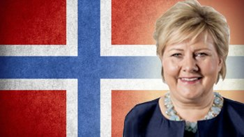Norway's Prime Minister Erna Solberg. Image: Norwegian Government/ Thinkstock
