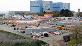 Hinkley Point C building works. Image: EDF Energy