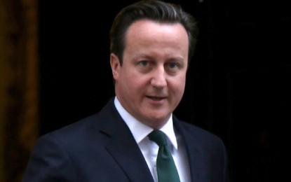 Cameron defends his green record