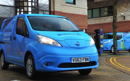 British Gas orders 100 electric vans for fleet