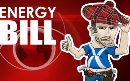 What is DECC wearing under its kilt?