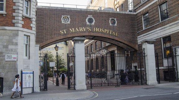 St Mary's Hospital in Paddington, London. Image: Thinkstock
