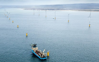 EDF opens new wind farm and gas plant
