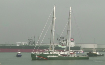 Greenpeace Arctic oil protesters released