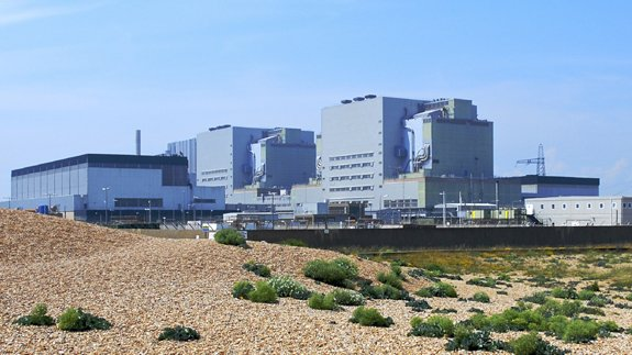 Dungeness nuclear power station, Kent. Image: Thinkstock