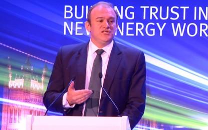 "Davey: single energy market can be ""backbone"" of EU energy security"