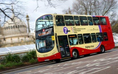 """""""Smoothing"""" traffic slashes bus emissions"""