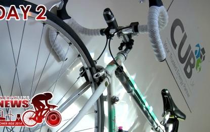 ELN Power Ride – Day 2 – Visiting CUB UK