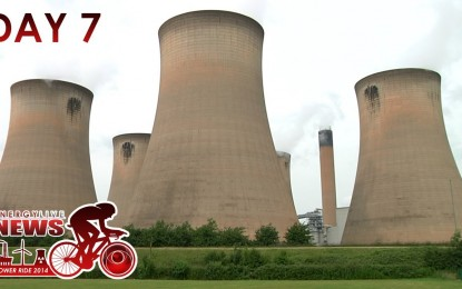 ELN Power Ride – Day 7 – Bawtry to Drax
