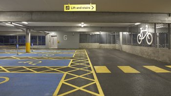 Stockport's NCP car park. Image: Future Energy Solutions