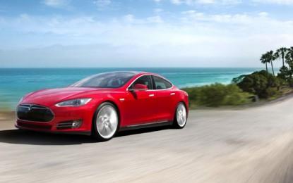 Panasonic and Tesla plan electric car battery factory