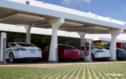 """Record"" time for USA Tesla roadtrip"