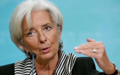 "Energy is ""mispriced"" says IMF boss Christine Lagarde"