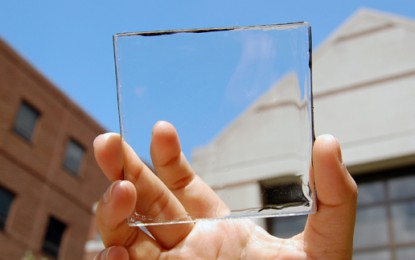 "See-through solar panel could make ""window power plants"""