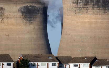 Ferrybridge fire under control