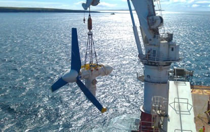 £50m raised for 'world's largest' tidal array in Scotland