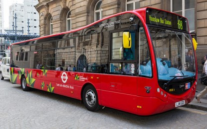 London to trial wirelessly charged hybrid buses