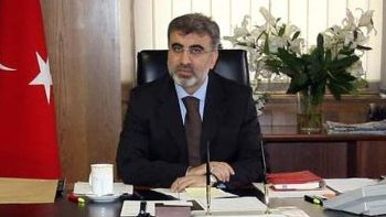 Turkish Energy Minister, Taner Yildiz. Image: Turkish Energy Ministry