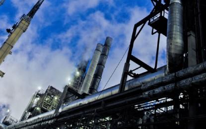 Blaze at BP refinery