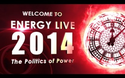 EL2014 – Welcome to Energy Live 2014
