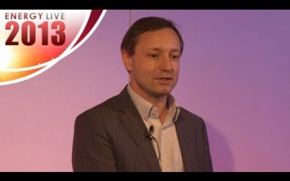Jonathan Brearley speaks at Energy Live 2013