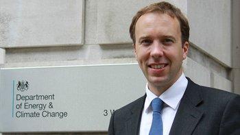 Matthew Hancock, Business and Energy Minister. Image: DECC