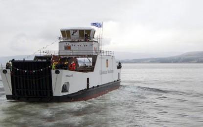 Scotland awards £12.3m for third hybrid ferry