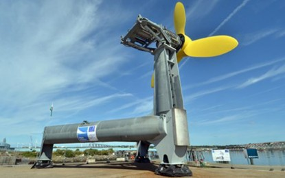 EDF to buy power from tidal energy firm